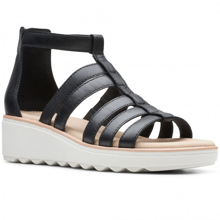 Clarks Jillian Nina Womens Flatform Gladiator Sandals