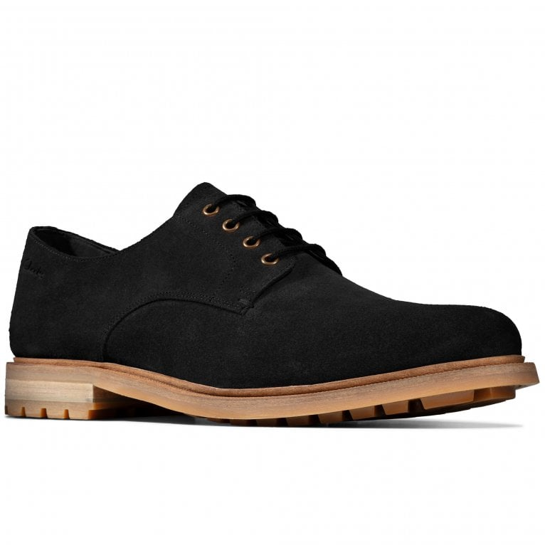 Clarks Foxwell Hall Mens Casual Lace Up Shoes
