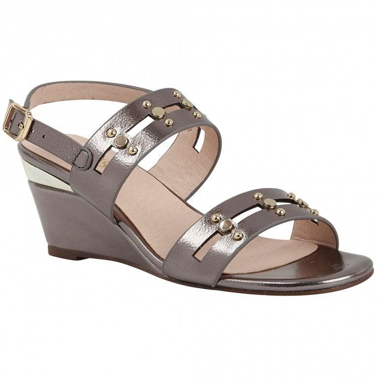 Lotus Alice Womens Slingback Wedge Shoes