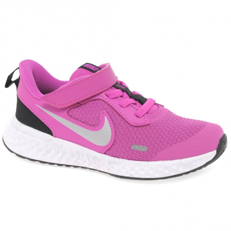 Nike Revolution 5 Girls Youth Sports Trainers