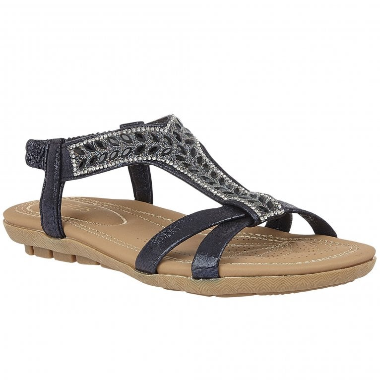 Lotus Freya Womens Toe Post Sandals