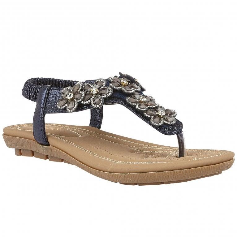 Lotus Daisy Womens Toe Post Sandals