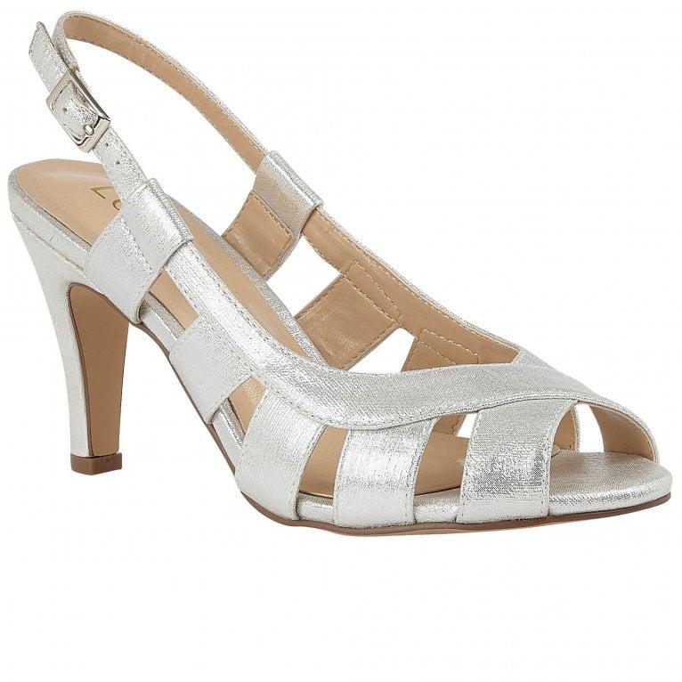 Lotus Dakota Womens Slingback Court Shoes