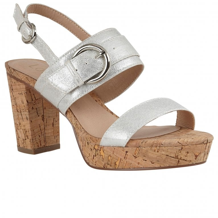 Lotus Romilly Womens Chunky Heeled Sandals