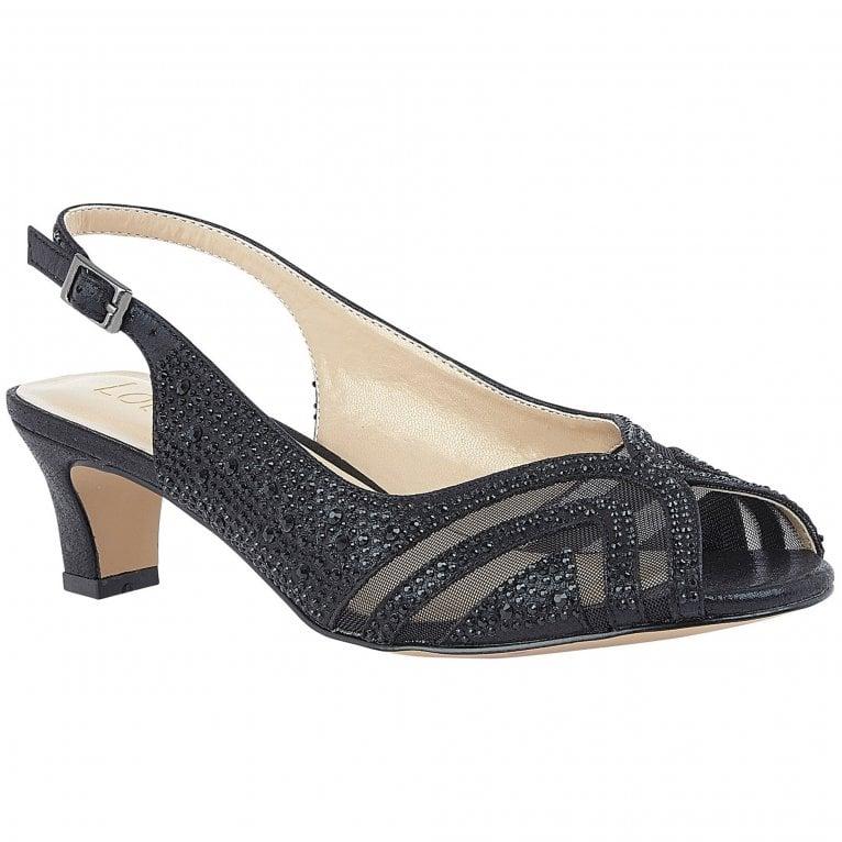 Lotus Glinda Womens Slingback Court Shoes