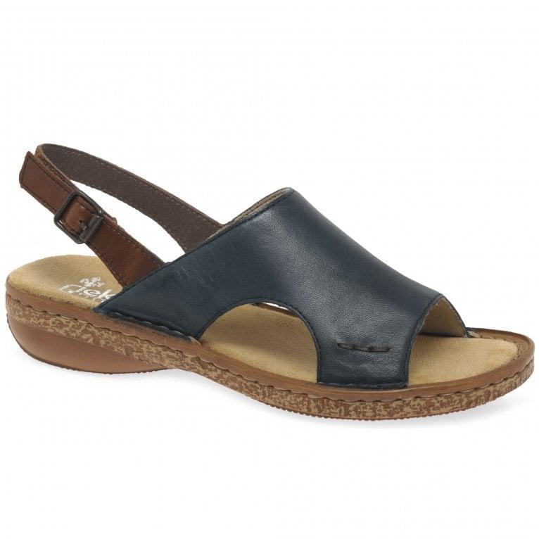 Rieker Amport Womens Sling Back Sandals