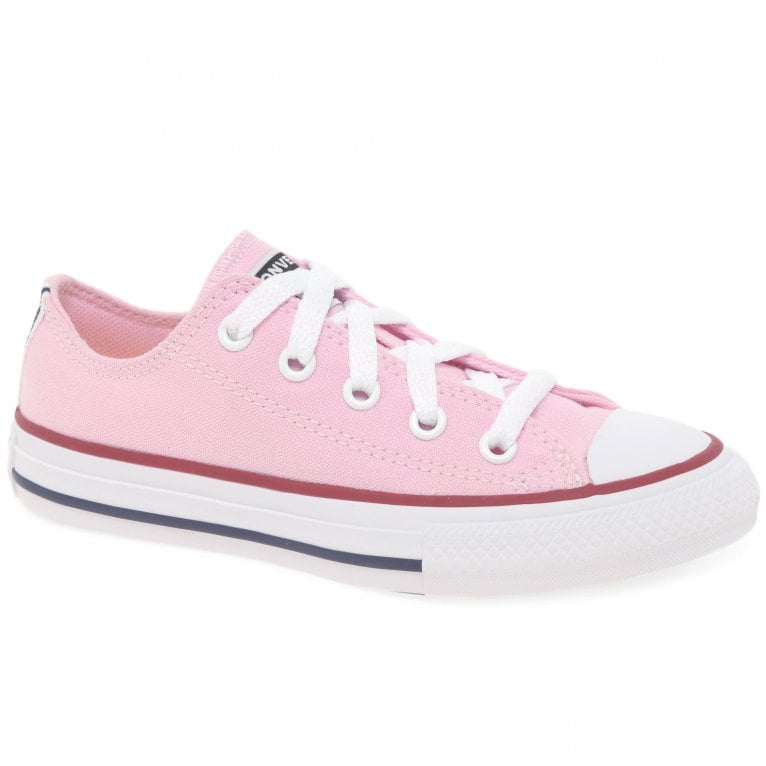 Converse All Star Twisted Oxford Girls Lace Up Canvas Shoes