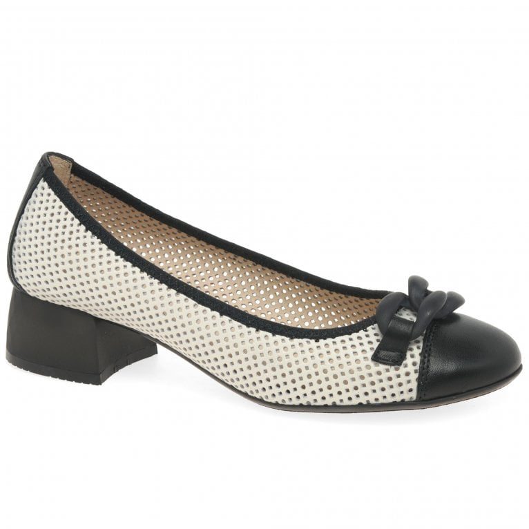 Hispanitas Andros Womens Punched Detail Shoes
