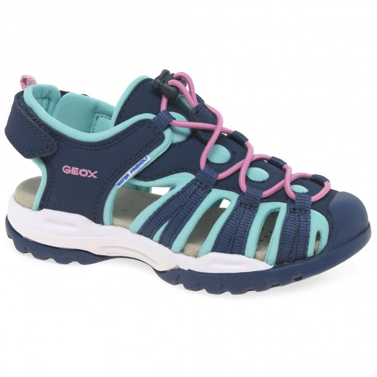 Geox Junior Borealis Girls Fisherman Sandals