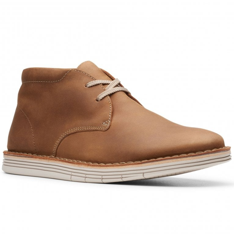 Clarks Forge Stride Mens Chukka Boots