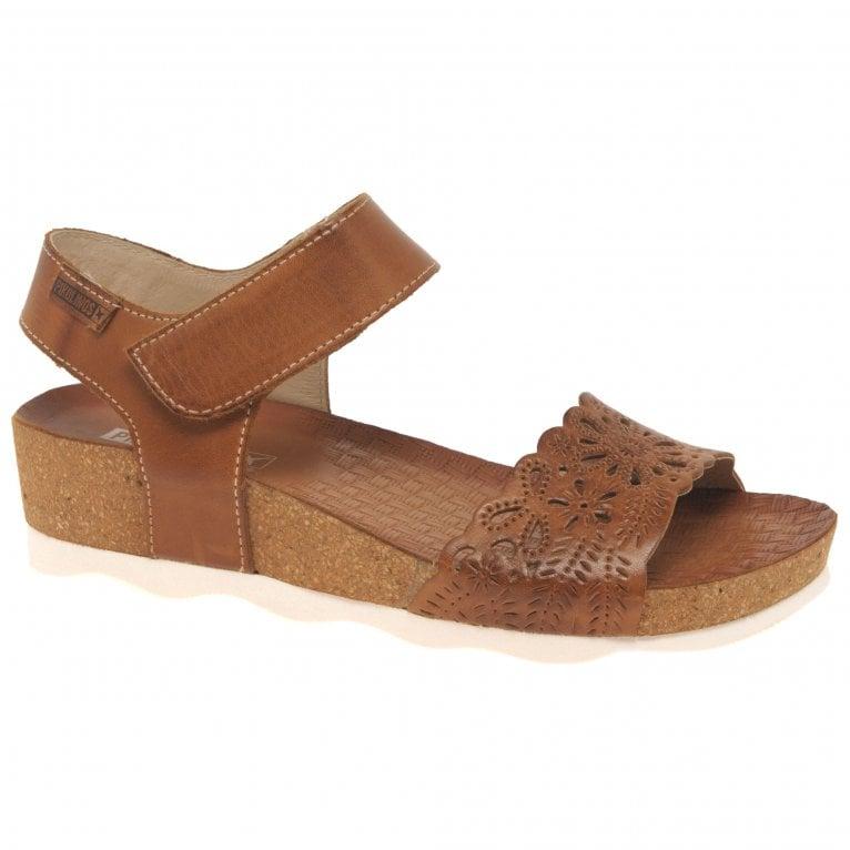 Pikolinos Mahon Womens Wedge Heel Sandals