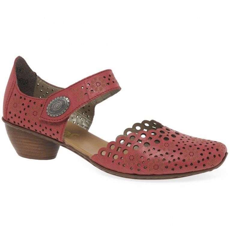 Rieker Pia Womens Open Court Shoes