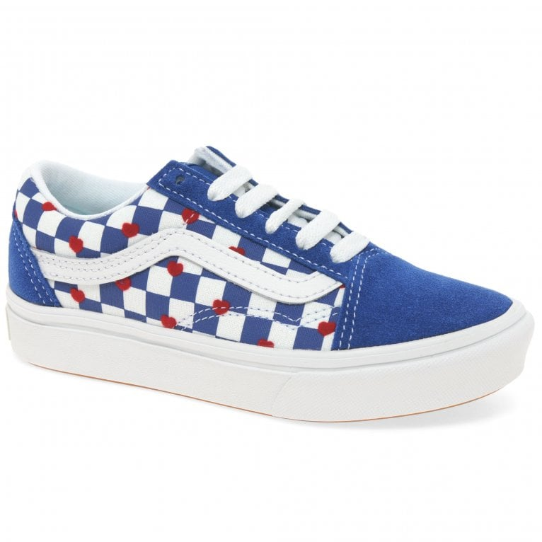 Vans Comfycush Old Skool Lace Kids Youth Canvas Shoes