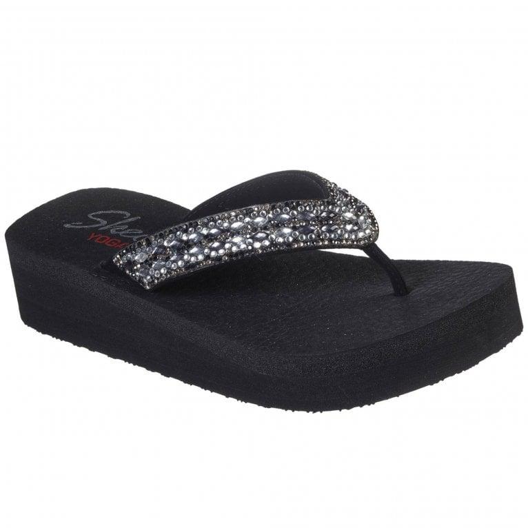 Skechers Vinyasa Glory Day Womens Toe Post Sandals