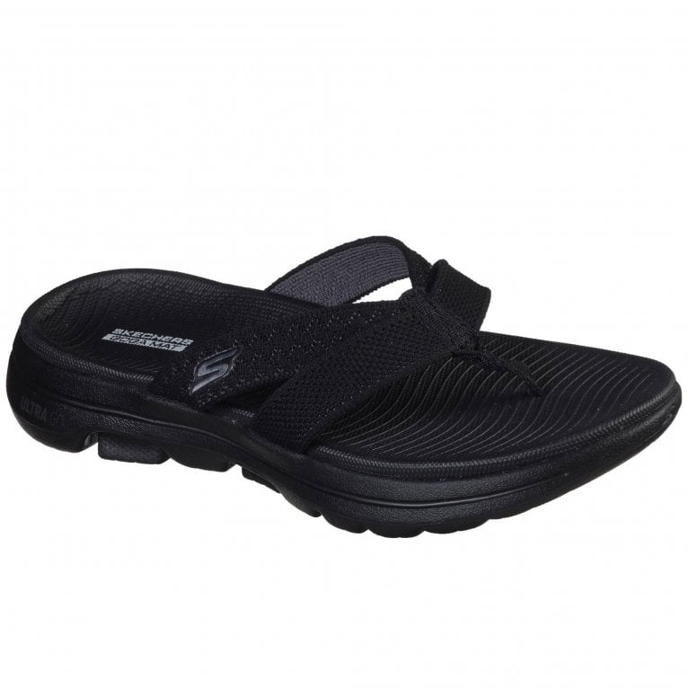 Skechers GOwalk 5 Sun Kiss Womens Toe Post Sandals