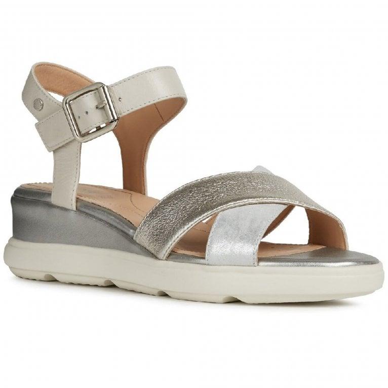 Geox D Pisa A Womens Wedge Sandals