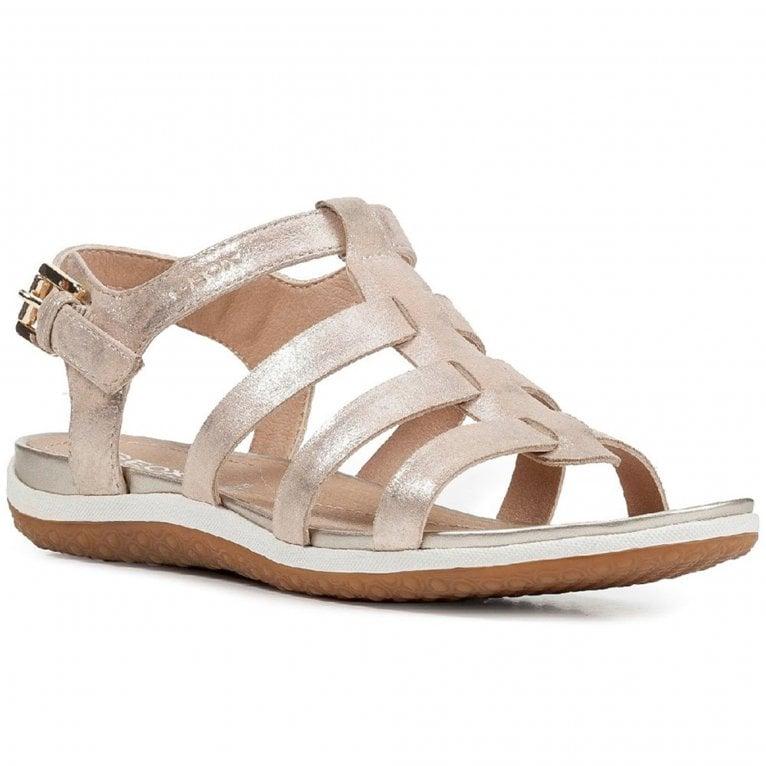 Geox D Sand Vega A Womens Fisherman Sandals