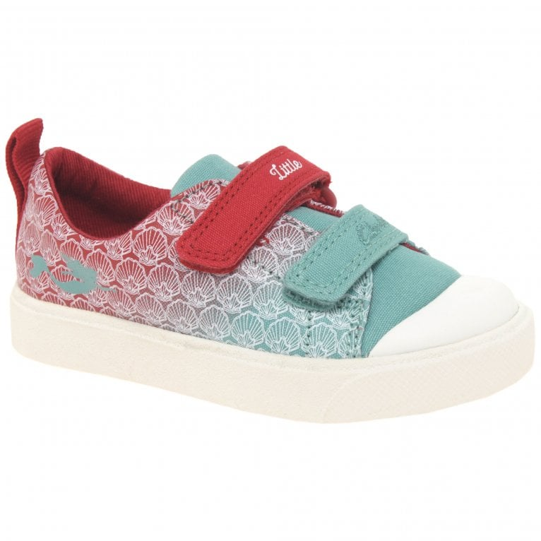 Clarks City Shell T Mermaid Girls Infant Canvas