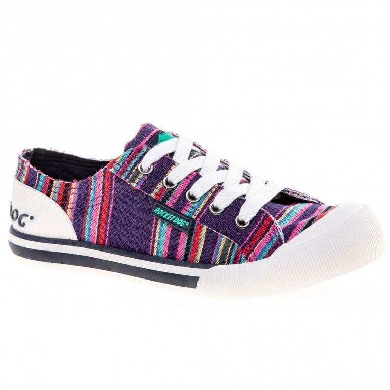 Rocket Dog Jazzin Canvas Aloe Womens Shoes