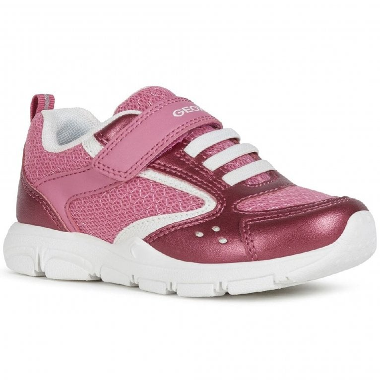 Geox New Torque Junior Girls Trainers