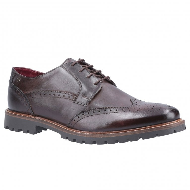 Base London Grundy Washed Mens Brogues