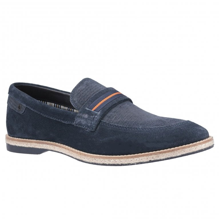 Base London Kinsey Suede Mens Loafers