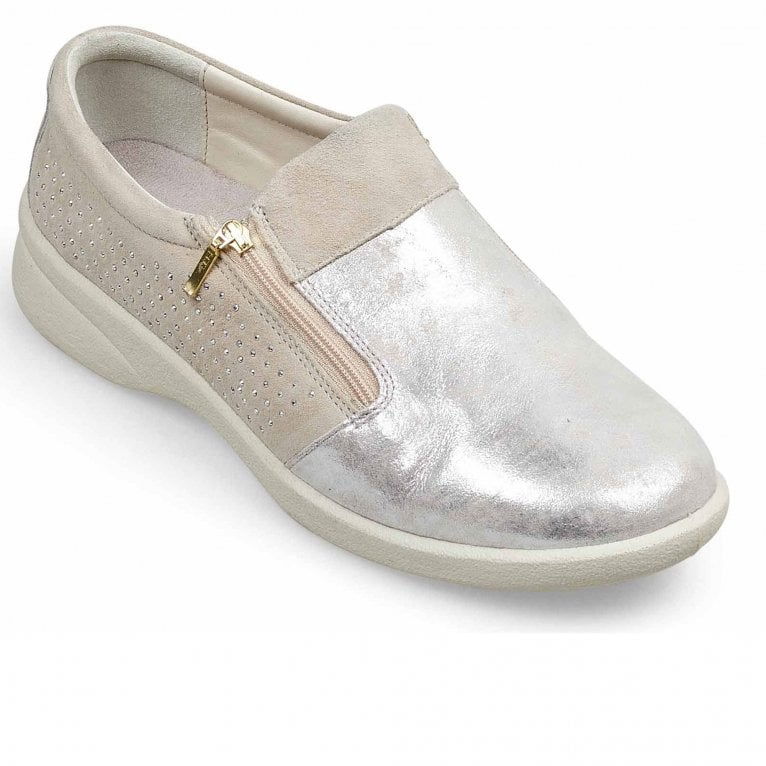 Padders Repearl Womens Wide Fit Casual Shoes