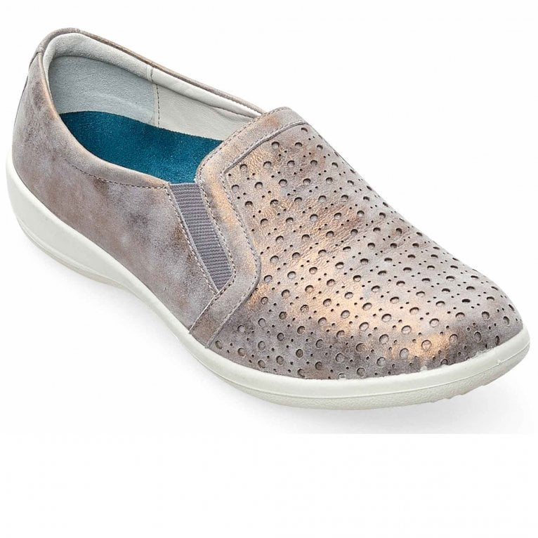 Padders Mandy Womens Wide Fit Casual Shoes