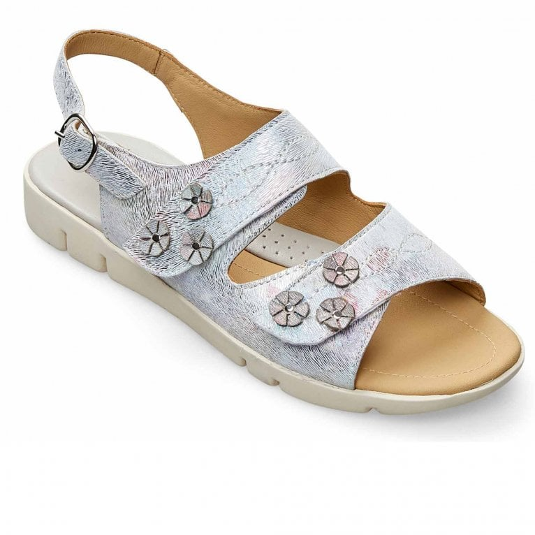 Padders Snowdrop Womens Wide Fit Sandals