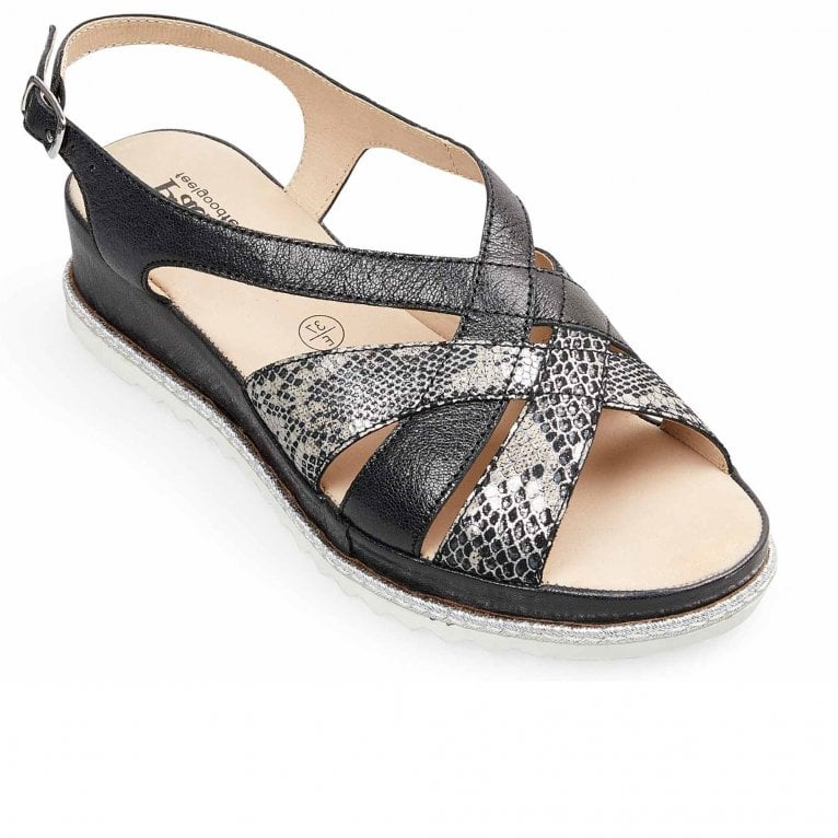 Padders Lola Womens Wide Fit Sandals