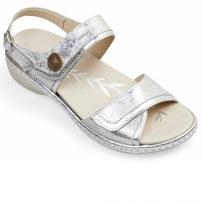 Padders Grazia Womens Wide Fit Sandals