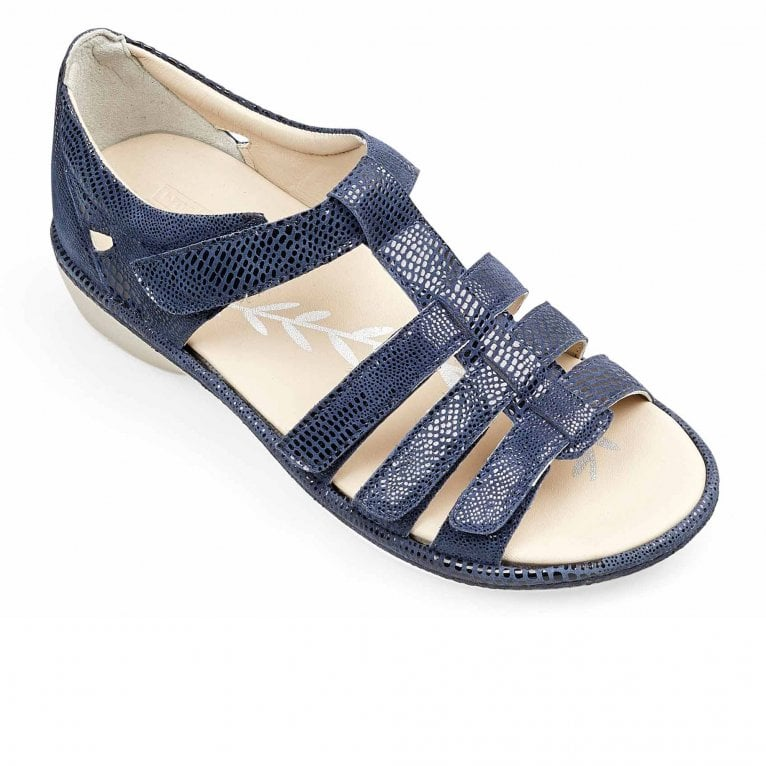 Padders Athena Womens Wide Fit Sandals
