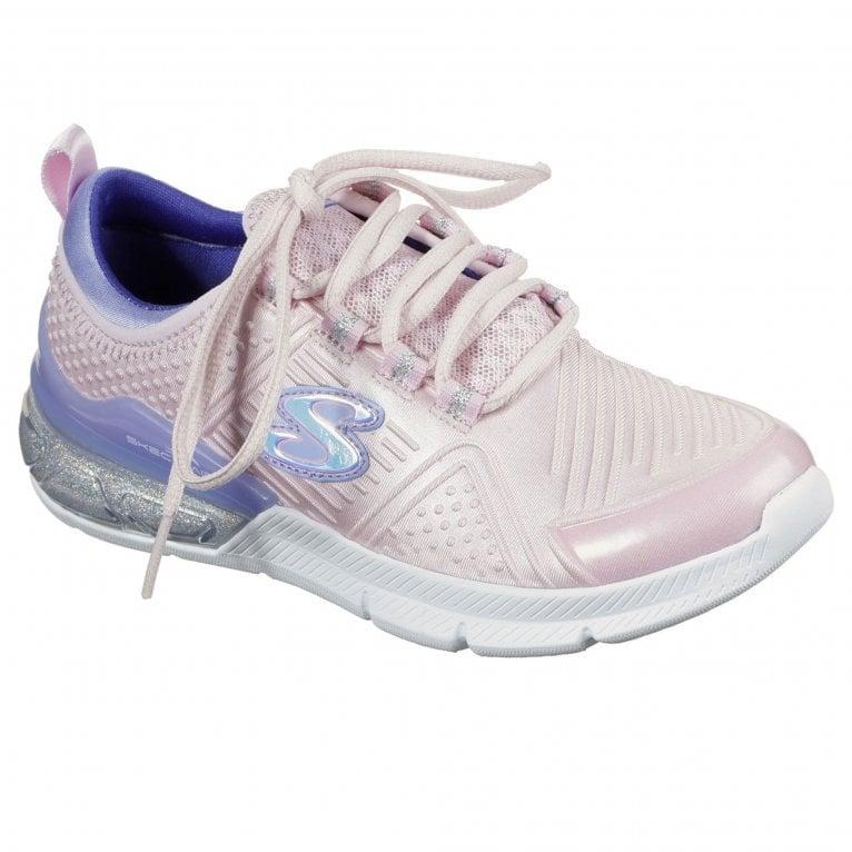 Skechers Skech-Air Sparkle Optical Shine Girls Sports Shoe
