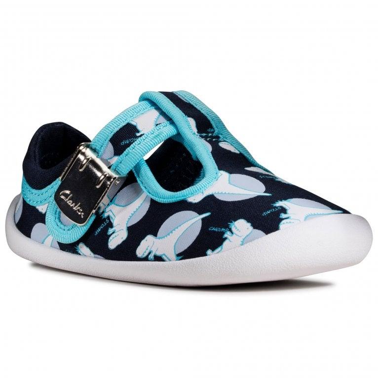 Clarks Roamer Sun T Boys Canvas Shoes