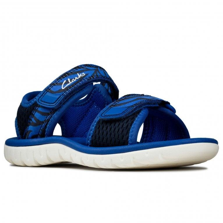 Clarks Surfing Tide K Boys Infant Sandals
