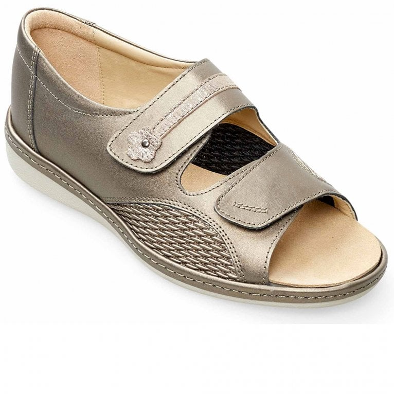 Padders Peaceful Womens Wide Fit Sandals