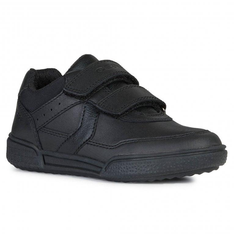 Geox Junior Poseido Boys Riptape Shoes