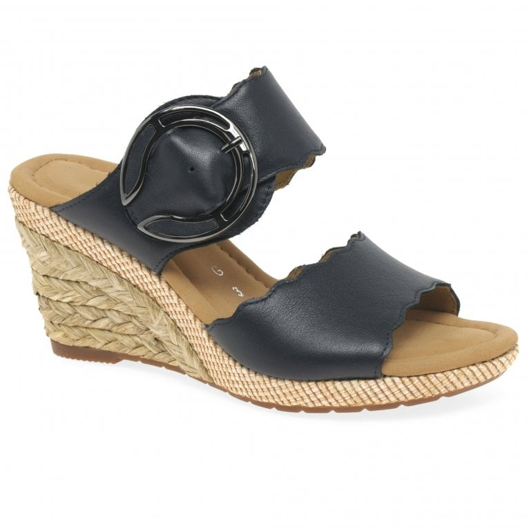 Gabor Kent Womens Wedge Heel Sandals