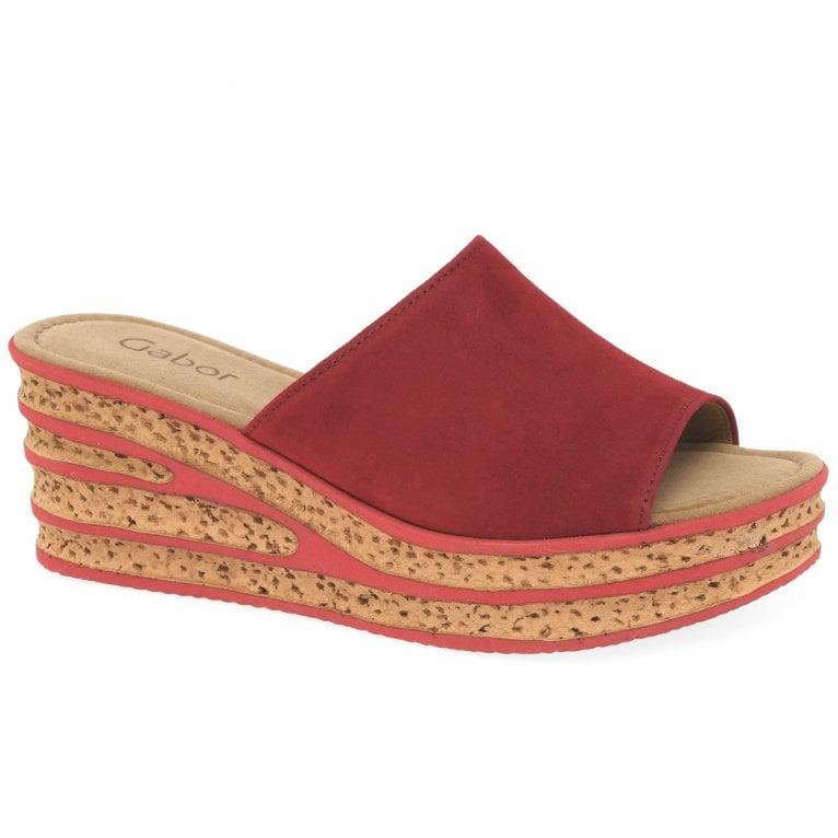 Gabor Trixie Womens Wedge Heel Sandals