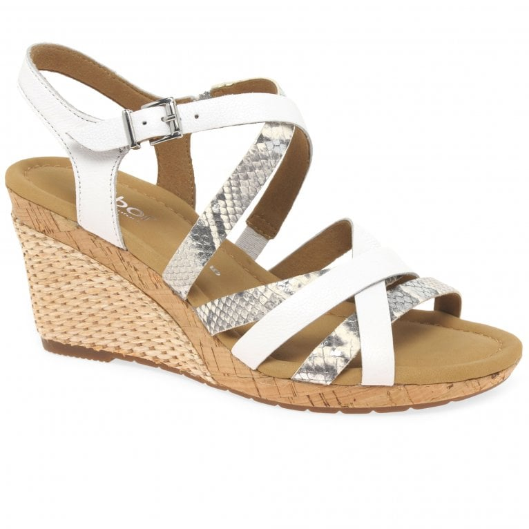 Gabor Kenley Womens Wedge Heel Sandals