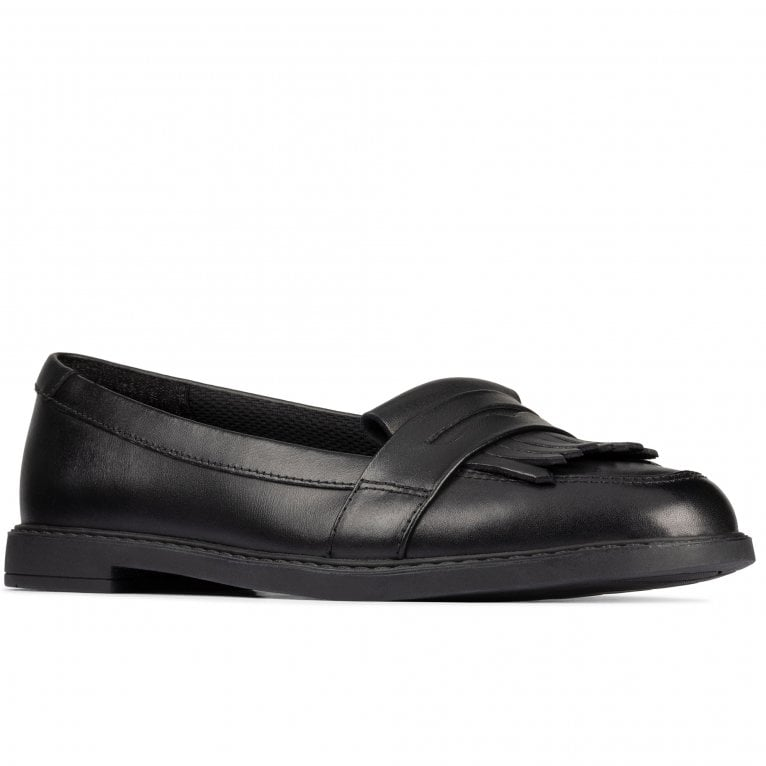 Clarks Scala Bright Senior Girls School Shoes