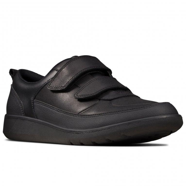 Clarks Scape Flare Y Senior Boys School Shoes