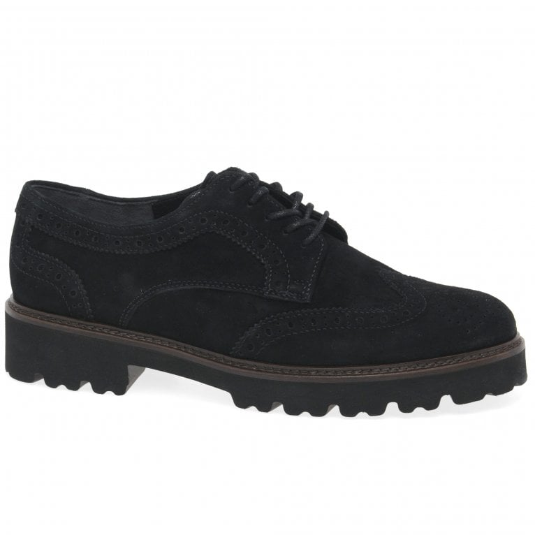 Gabor Sweep Womens Suede Shoes
