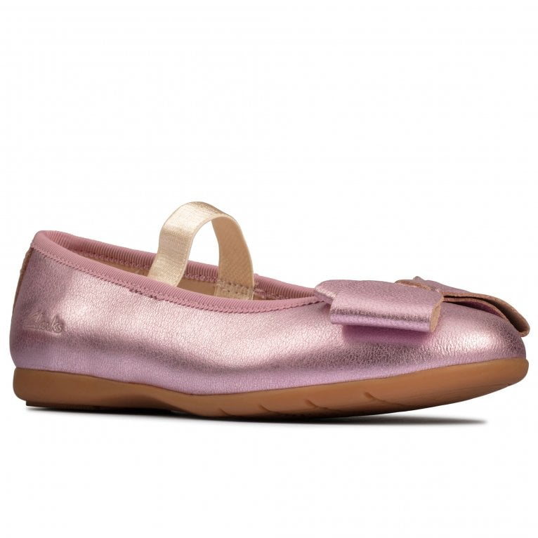 Clarks Dance Bow K Girls Shoes