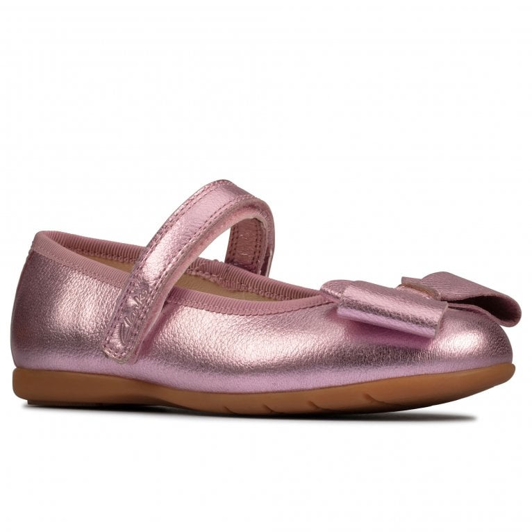 Clarks Dance Bow T Girls Infant Shoes