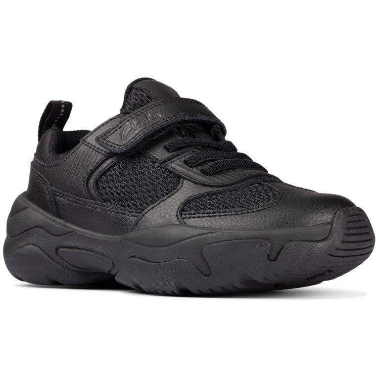 Clarks Kuju Run K Boys School Shoes
