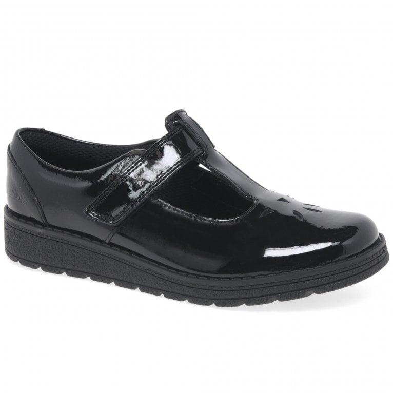 Clarks Mendip Joy K Girls School Shoes