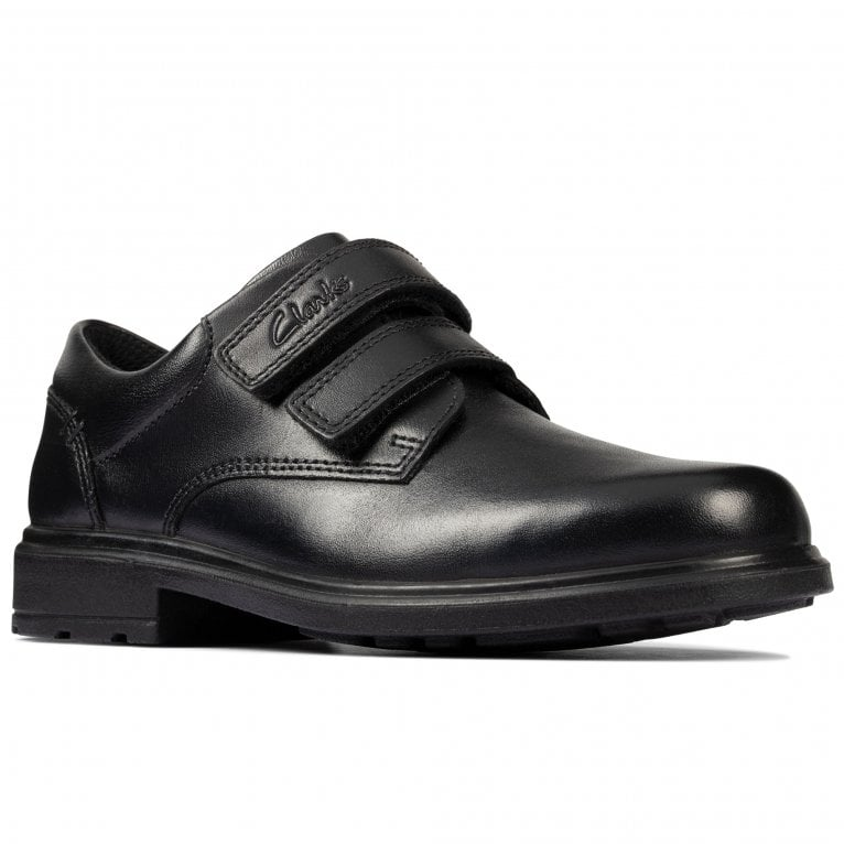 Clarks Remi Pace K Boys School Shoes