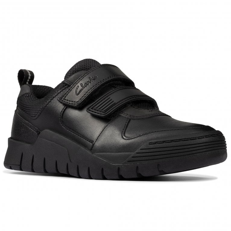 Clarks Scooter Speed T Boys Infant School Shoes