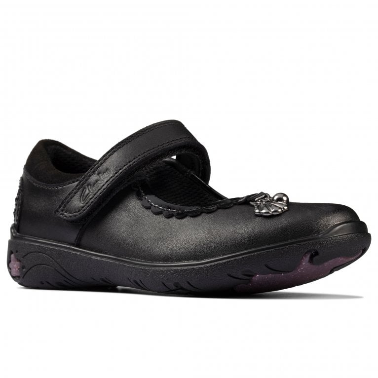 Clarks Sea Shimmer T Girls Infant School Shoes